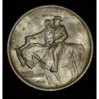 50c Half Dollar 1925 Stone Mountain MS62 mott