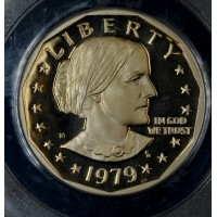 $1 One Dollar 1979 S SBA PR69 DCAM Type 1 PCGS gem super