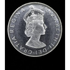 Bermuda 1 Crown 1964 Proof silver KM#14 brilliant