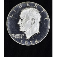 $1 One Dollar 1974 S Ike PR66 DCAM Silver brilliant