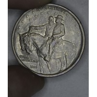 50c Half Dollar 1925 Stone Mountain MS60 lt tn