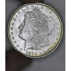 $1 One Dollar 1878 P MS62 7/8TF bright almost a MS63