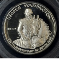 50c Half Dollar 1982 S Washinton PR67 PCGS brilliant