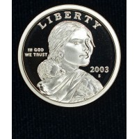 $1 One Dollar 2003 S SAC PR69 DCAM brilliant choice