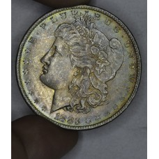 $1 One Dollar 1883 O MS62 rich iridescent tn