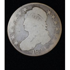 50c Half Dollar 1824 AG3+ some light scratches