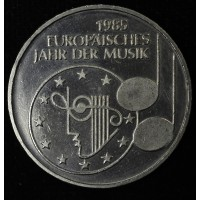 Germany 5 Marks 1985 UNC CN European Year of Music