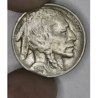 5c Nickel 1913 Buff EF40 Type 2 golden grey
