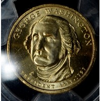 $1 One Dollar 2007 D Pres. BU G. Washington PCGS 1st Day Iss