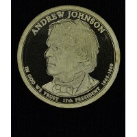 $1 One Dollar 2011 S Pres. PR66 A. Johnson brilliant