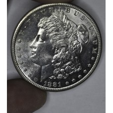 $1 One Dollar 1881 S MS63+ semi PL Dripping luster