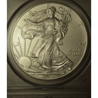 $1 One Dollar 2009 P Eagle MS70 PCGS First Strike Gem