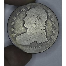 50c Cent 1/2 Half Dollar 1834 AG3 Large Date Large Letters gdln gry toning