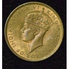 Jamaica 1 Farthing 1945 MS63 nickel-brass KM#30 lustorus tn