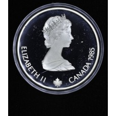 Canada $20 Dollars 1985 Proof silver KM#146 spd skater