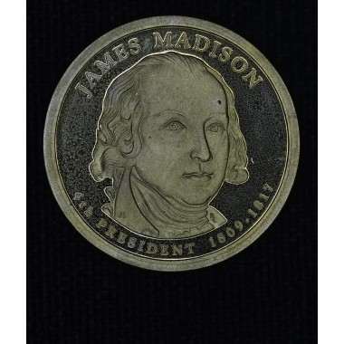 $1 One Dollar 2007 S Pres. PR66 J. Madison brilliant