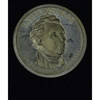 $1 One Dollar 2008 S Pres. PR66 J. Monroe brilliant