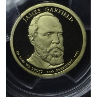 $1 One Dollar 2011 S Pres. PR70 DCAM J. Garfield PCGS