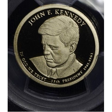 $1 One Dollar 2015 S Pres. PR70 DCAM PCGS JFK First Strike