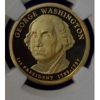 $1 One Dollar 2007 S Pres. PR69 UCAM G. Washington NGC