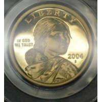 $1 One Dollar 2004 S SAC PR69 DCAM PCGS Gem