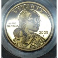 $1 One Dollar 2005 S SAC PR69 DCAM PCGS Gem