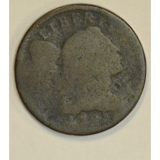 1c One Cent Penny 1795 PO01 Lettered Edge 37K Minted Rare choc tn