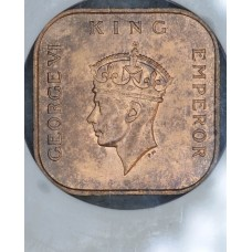 Malaya 1 Cent 1939 MS63 RB NGC bronze KM#2 Mint Red