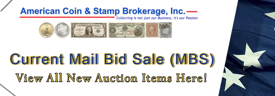 New Mail Bid Sale Click Here