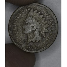 1c One Cent Penny 1873 G4 Closed 3 toning
