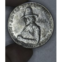 50c Cent 1/2 Half Dollar 1920 Pilgrim MS61 light tone