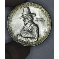 50c Cent 1/2 Half Dollar 1920 Pilgrim MS60 light tone