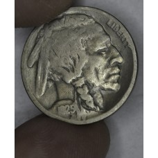 5c Nickel Five Cents 1925 S VG8 light gold toning