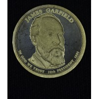 $1 One Dollar 2011 S Pres. PR66 J. Garfield brilliant