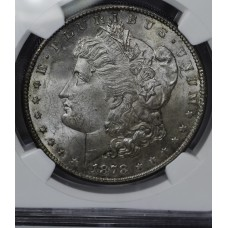 $1 One Dollar 1878 S MS62 NGC upgrade candidate PQ