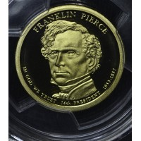 $1 One Dollar 2010 S Pres. PR70 DCAM F. Pierce PCGS