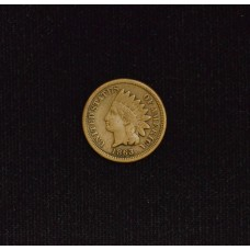 1c One Cent Penny 1862 F15 even orig. golden tan